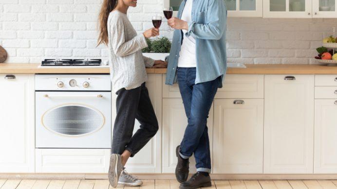 Cohabiting couple