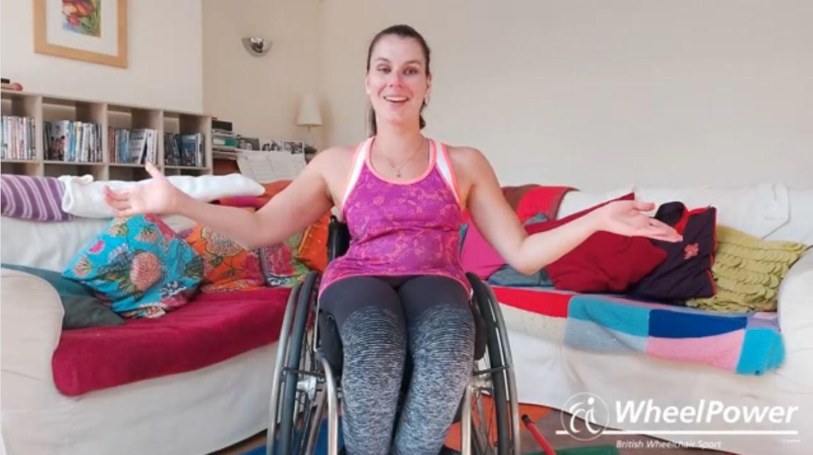 GB wheelchair basketball player Ella Beaumont