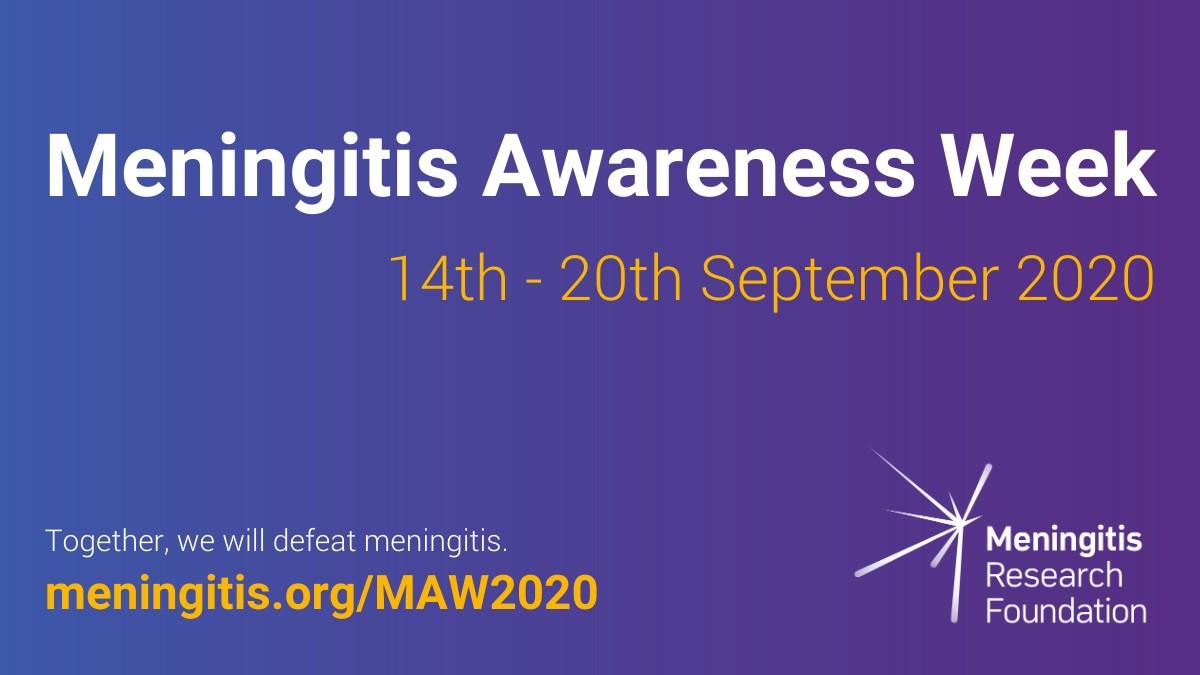 Meningitis Awareness Week 2020