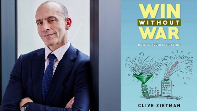Head of Commercial Litigation - Clive Zietman - Win without war