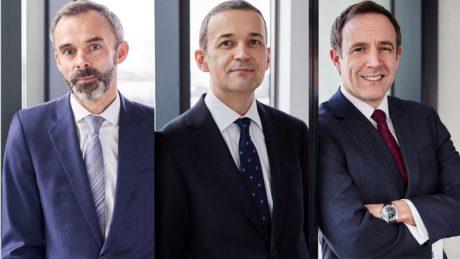 Julian Chamberlayne, Sean Upson and Stuart Dench