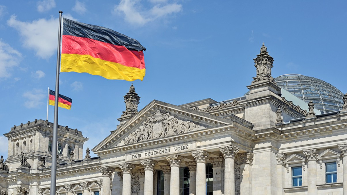 Flags-Germany-Bundestag