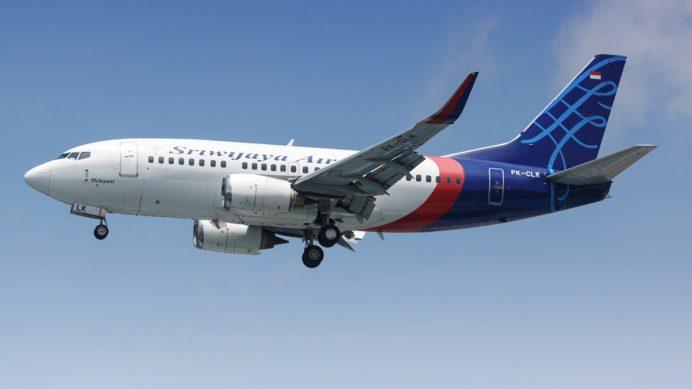 Indonesia Sriwijaya Air Boeing 737