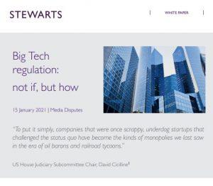 Big tech regulation white paper