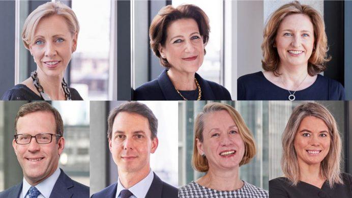 Emma Hatley, Helen Ward, Debbie Chism, James Price, Geoff Kertesz, Lisa Vanderheide and Sarah Stenton - Tatler HNW