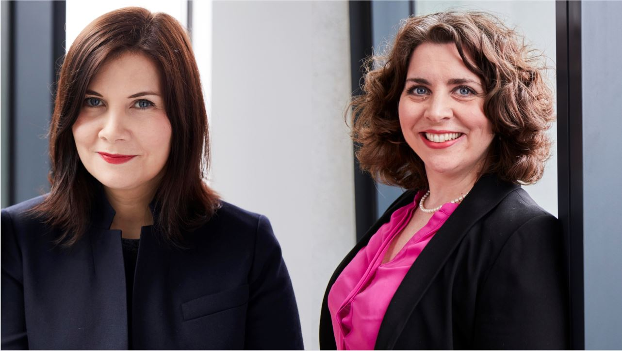 Head of Competition Litigation Kate Pollock and Head of International Arbitration Philippa Charles