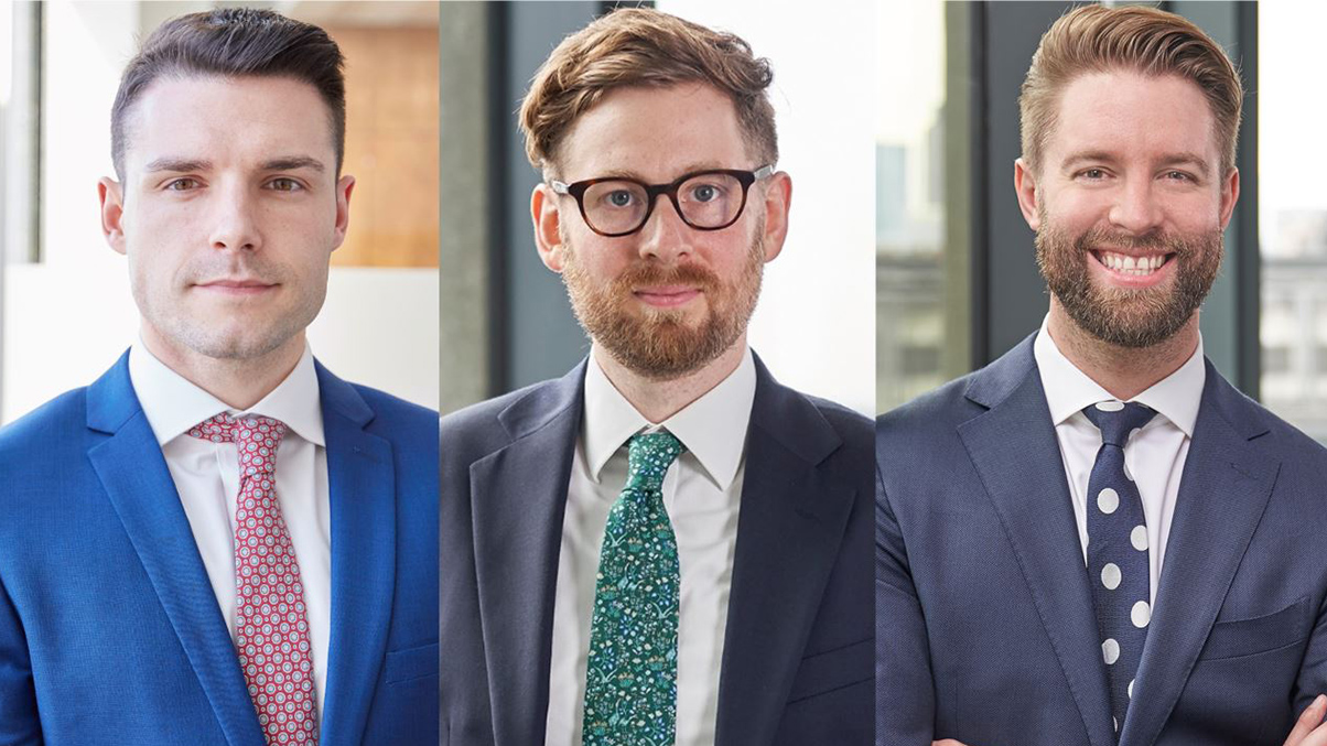 Employment partners Joseph Lappin and Charlie Thompson, and Financial Crime Partner David Savage
