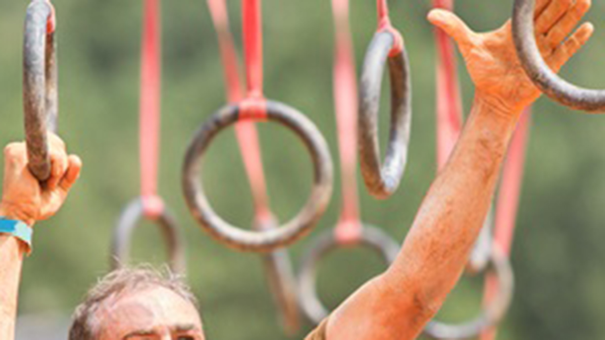 Monkey-rings - obstacle course