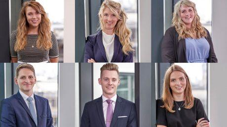 Alice Russell, Finn Smith, Fiona Porter, Oliver Ingram, Ryan Hooton, Sophie Parris.